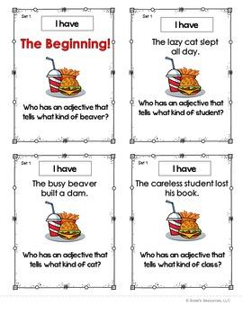 Adjectives Set 1