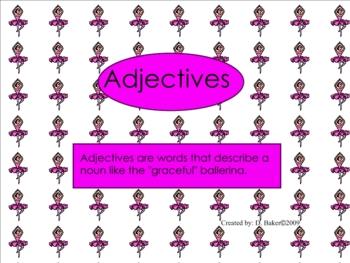 Adjectives Smartboard Practice