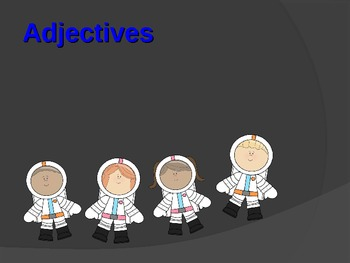 Adjectives: Space Themed