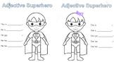 Adjectives Superhero