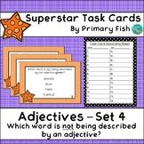 Adjectives - Superstar Task Cards - Set 4