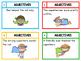 Adjectives Task Cards (superhero theme)