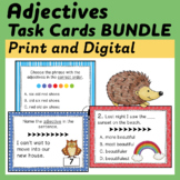 Adjectives Task Cards Bundle