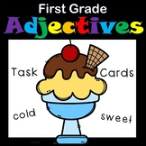 Adjectives for First Grade Task Cards