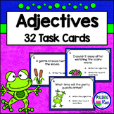 Adjectives Task Cards - Grammar Practice