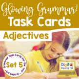 Adjectives Task Cards I Distance Learning I Google Slides