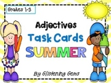 Summer Adjectives Task Cards