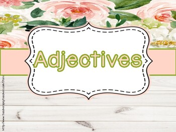 Adjectives!! Third Grade: Common core!!