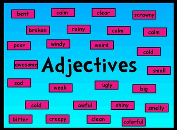 Adjectives Unit Guide