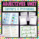 Adjectives Unit (Kindergarten-2nd Grade)