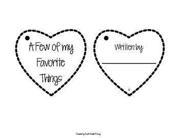 Valentine's Day Activity Adjectives
