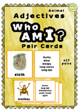 Adjective Pair Cards - Who Am I Game