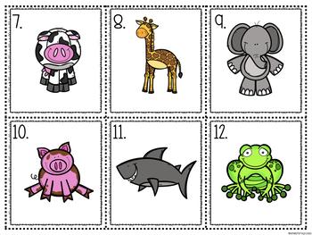 Adjectives Write the Room (Animals)