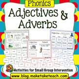 Adjectives and Adverbs! - Word Sorting