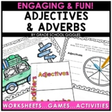 Adjectives and Adverbs Worksheets, Activities, and More!