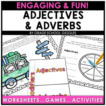 Adjectives and Adverbs Worksheets & More