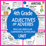 Comparative & Superlative Adjectives & Adverbs – Adjective & Adverb Activities