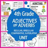Comparative & Superlative Adjectives & Adverbs–Adjective & Adverb Activity Unit