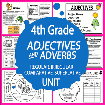 Comparative and Superlative Adjectives and Adverbs Unit (2