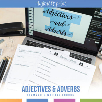 Adjectives and Adverbs Bundle