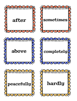 Adjectives and Adverbs Grammar Review