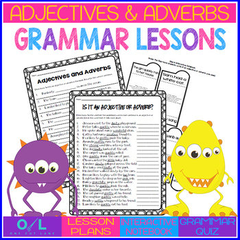 Adjectives and Adverbs {Journeys} Week #30
