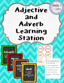 Adjectives and Adverbs Learning Station