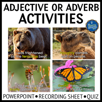 Adjectives and Adverbs PPT