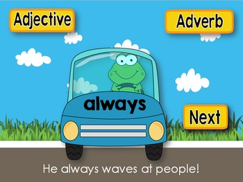 Adjectives and Adverbs PowerPoint Game