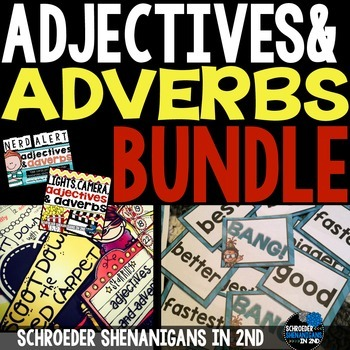 Adjectives and Adverbs: THE BUNDLE!!