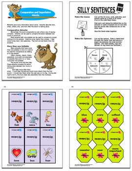 Comparative and Superlative Adjectives and Adverbs Unit (3 COMPLETE Lessons!)
