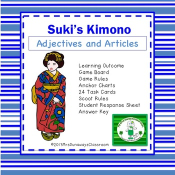 Adjectives and Articles:  Suki's Kimono