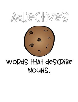 Adjectives and Cookies
