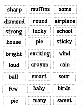 Adjectives, and Nouns- Oh My!
