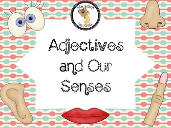 Adjectives and Our Senses Task Cards