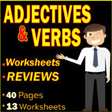 Adjectives and Verbs | Transitive and Intransitive | Phrasal Verbs | ELA