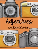 Adjectives and Word Choice (Interactive Notebook, Games, Practice, Activities)