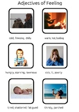 Adjectives and synonyms of feelings and emotions - with pictures