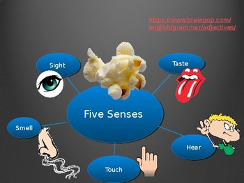 Adjectives and the Five Senses