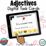 Adjectives and the Five Senses: BOOM Cards™ for Digital Gr