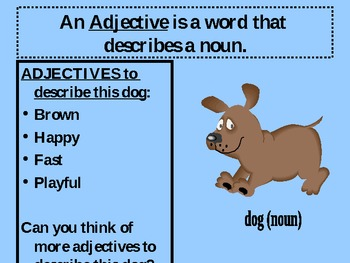 Adjectives are Fun!
