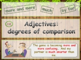 Adjectives: as...as, by far, the more ... the more