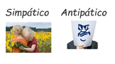 Adjectives (describing oneself) in Spanish: Labels included