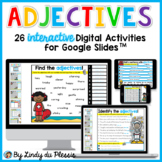 Adjectives for Google Slides Paperless Digital Activities