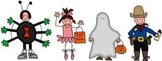Adjectives for Halloween (mini-lesson)