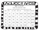 Adjectives for Number, Size and Shape - Find and Color