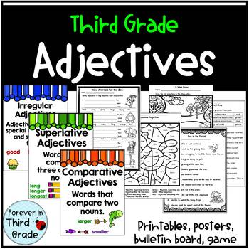 Adjectives for Third Grade