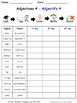 Adjectives in French Spelling Worksheets