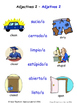 Adjectives in Spanish Matching Activities