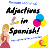 Adjectives in Spanish Power Point Presentation
